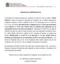 COMUNICADO GABPRES/002/2018