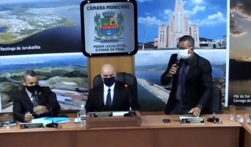Deuty pede abertura de CPI do CarapebusPrev