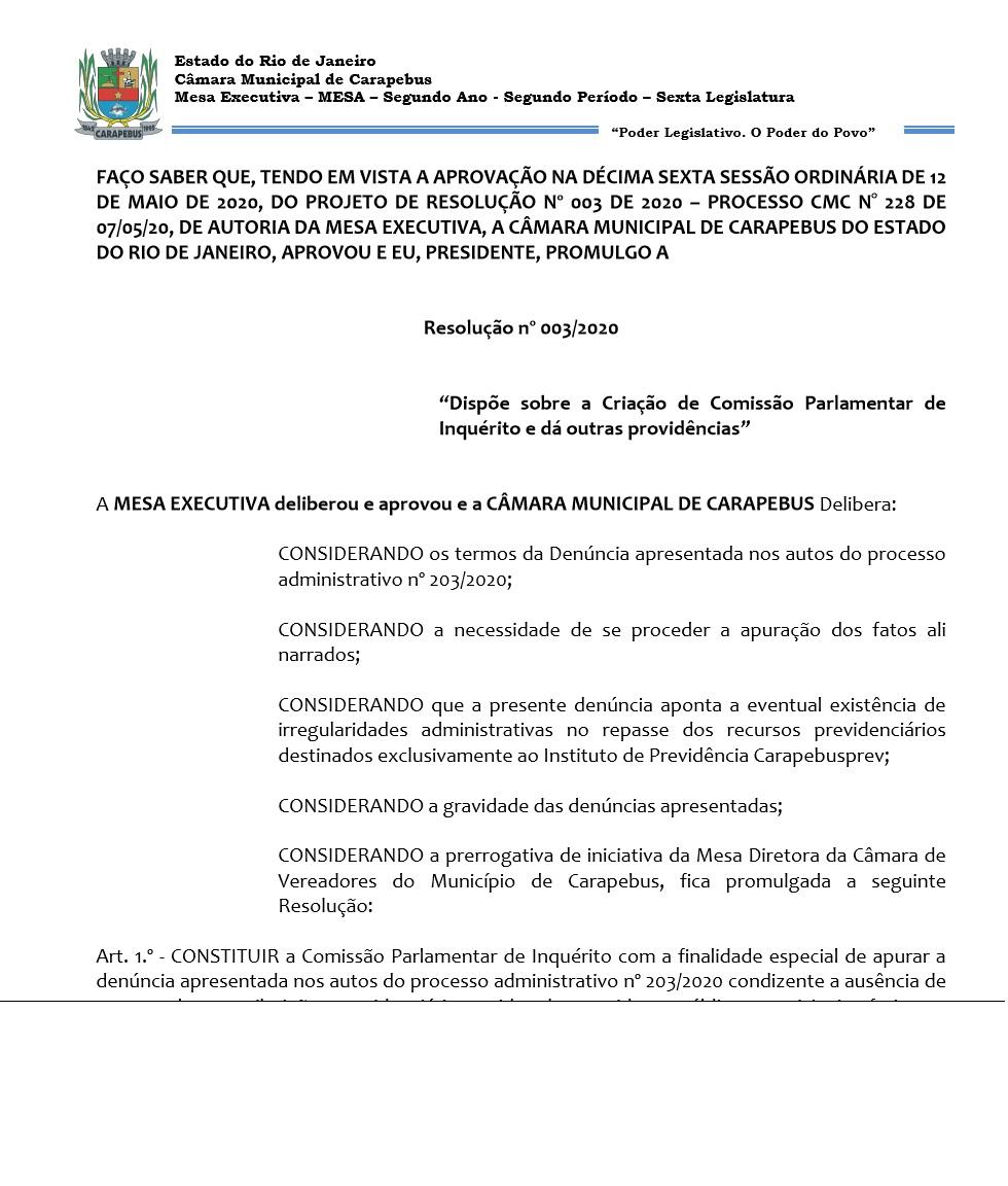 Resolução.003.20 -CPI
