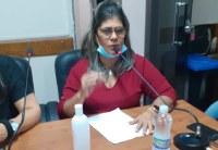 Tânia Cabral propõe asfalto, ambulância e ETE para a cidade