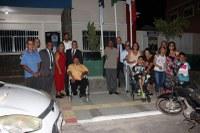 Vereadores entregam título de cidadania e obras de acessibilidade
