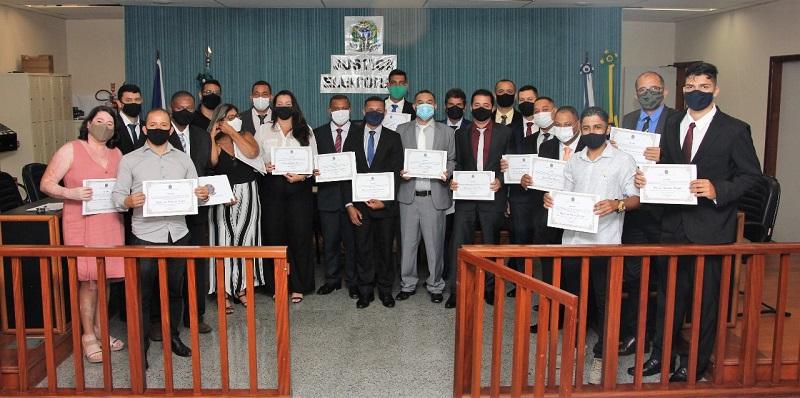 Vereadores são diplomados e tomam posse dia 1º de janeiro